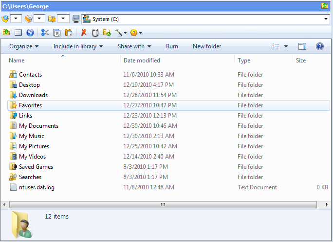 how to use browser and file manager