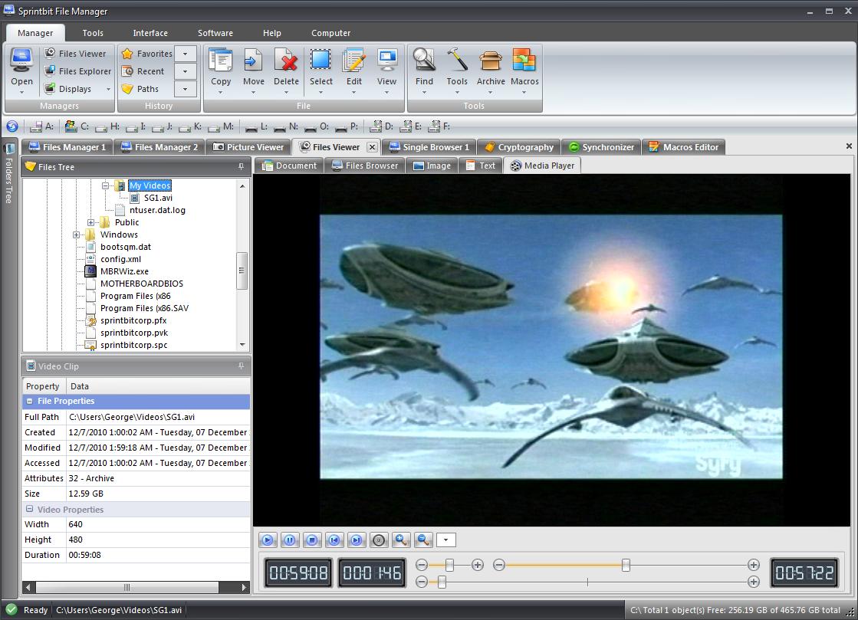 Software   Sprintbit File Manager